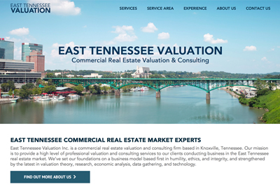 EAST TENNESSEE VALUATION